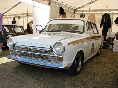 Sweet Cortina MK 1 in the pits