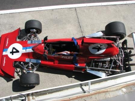 Lola T430 the old Teddy Pilette Team VDS car