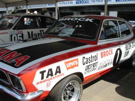 The most valuable XU1 with the A9X in the background RIP Peter Brock King of the Mountain