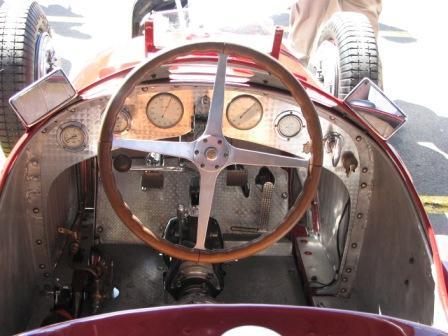 Alfa type 33 cockpit