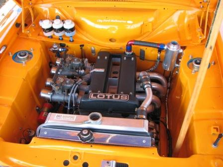 The little 1600 Lotus Escort engine