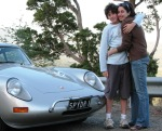 Tom Lisa and the Abarth agin over looking Noojee March 07